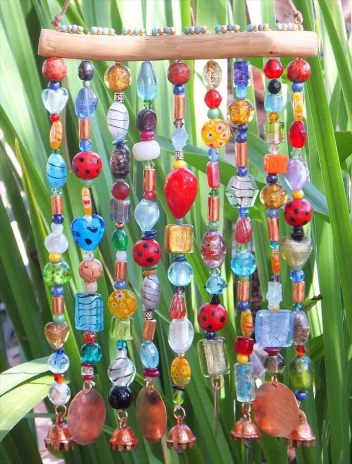 Wind chimes are not unknown item in decoration of a house. They produce sweet sound when door is opened by someone or when wind blow in the garden. Wind chimes are also hung on windows so that when wind enters through window the sweet sound of wind chime may cherish the occupants of the room.