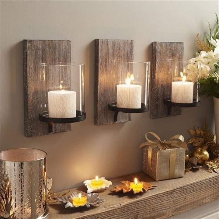 wood wall decor ideas inarace - Wooden Wall Decoration Ideas