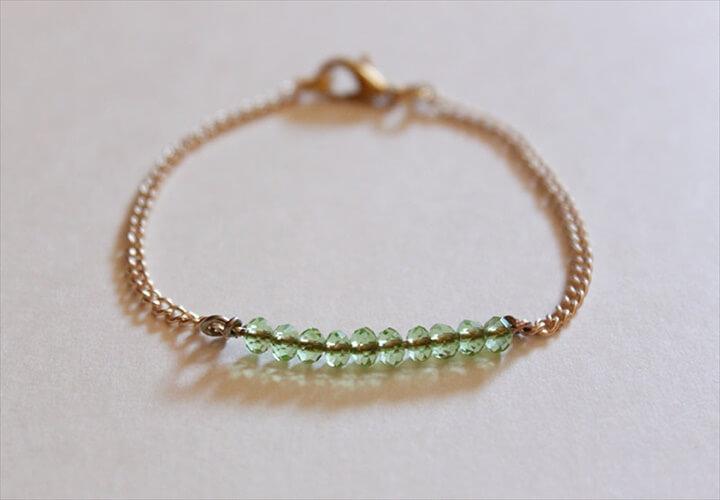 Delicate Bead Bracelet