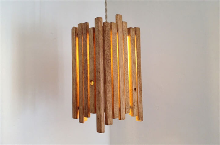 Handmade Wooden Lamp Ideas