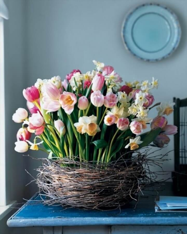 spring flower arrangements Ideas for beautiful spring flower .