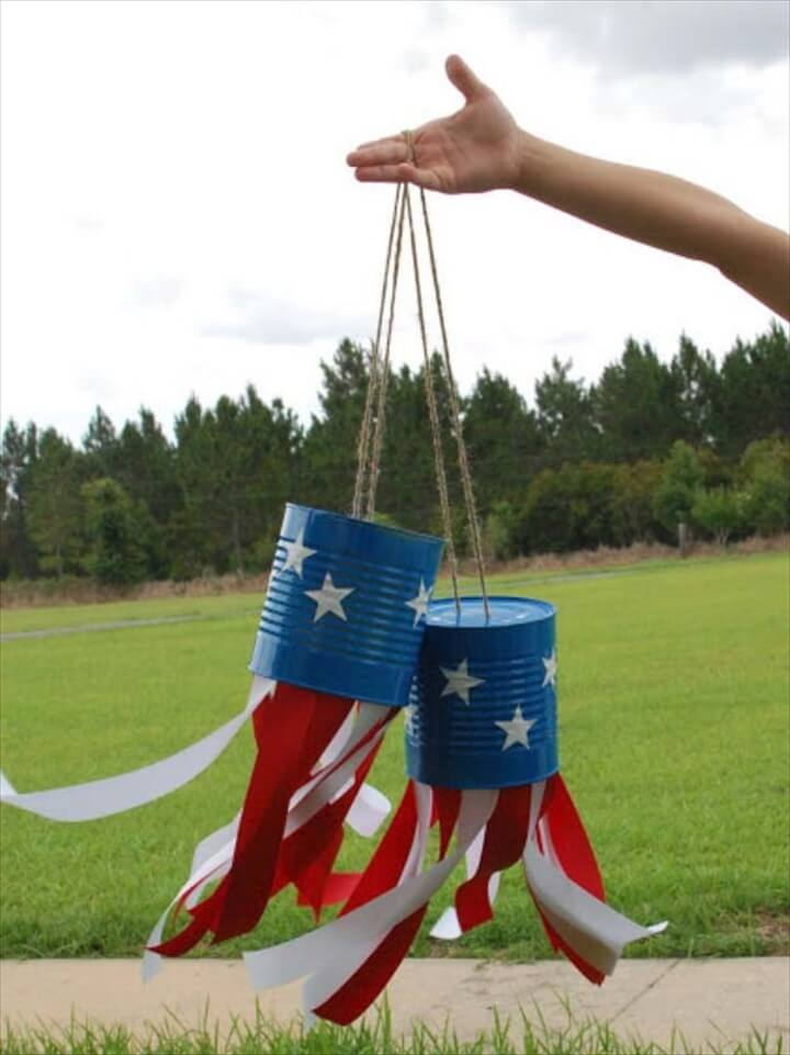 Rustic DIY Ideas With the American Flag