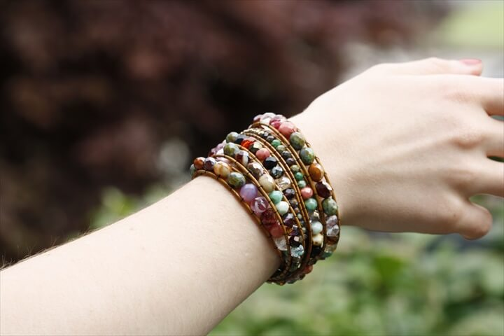 DIY Chan Luu Style Bohemian Wrap Bracelet