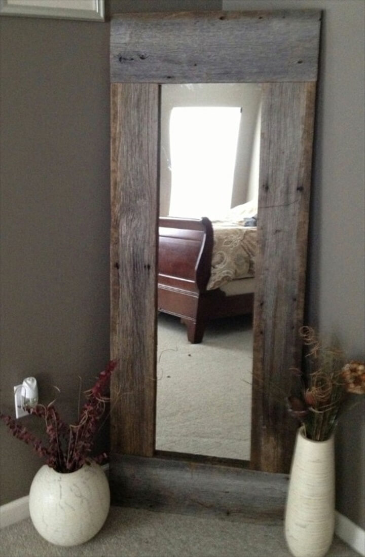 BarnWood Mirror Barn Wood Mirror