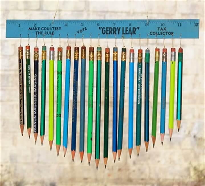 Pencil chimes.