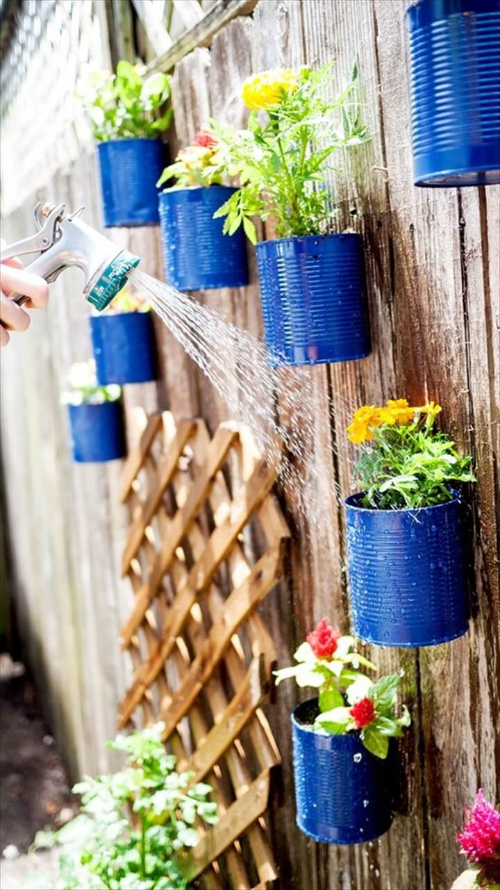 DIY Creative Decorations from Recycled Tin Cans