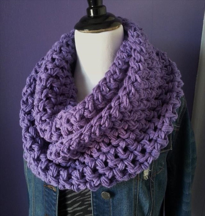 32 Super Easy Crochet Infinity Scarf Ideas Diy To Make
