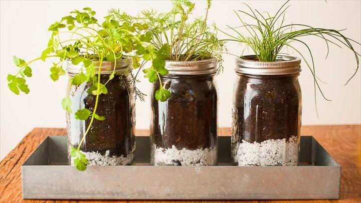 Kitchen Window Herb Garden Hanging Pots