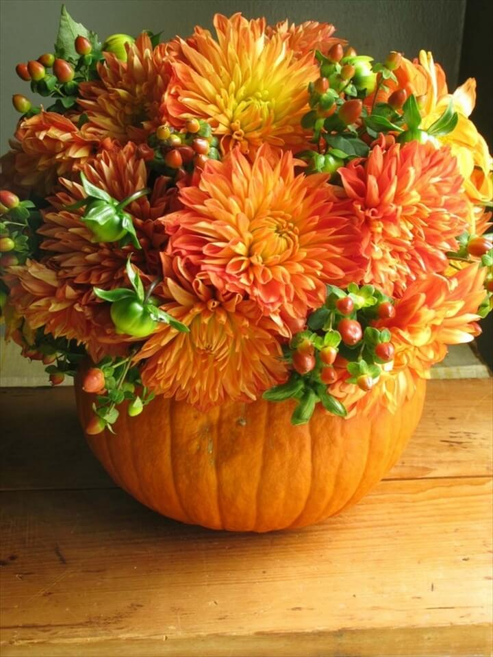 easy pumpkin centerpieces and gorgeous fall decorating ideas