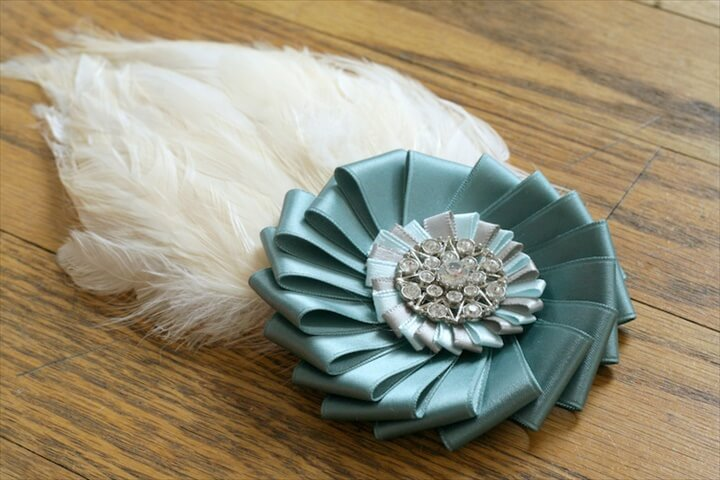 Hand Made Wedding Fascinator
