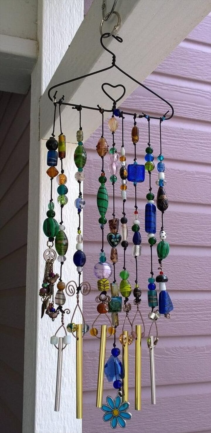 23 brilliant marvelous diy wind chimes ideas diy to make for Easy to make wind chimes