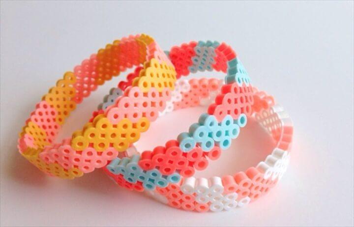 DIY hama bracelet