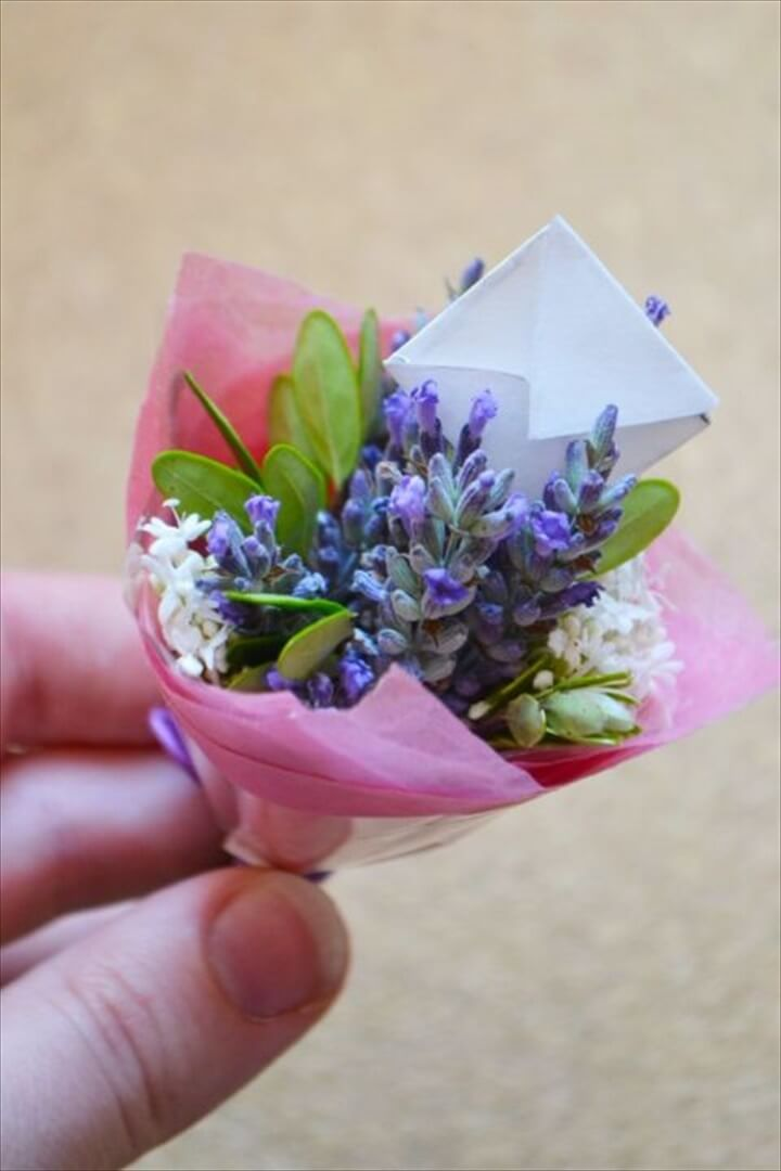 diy Mini Bouquets
