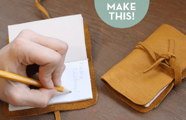 a Simple DIY Leather Journal