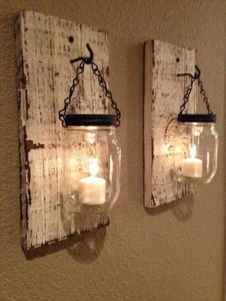Recycled Pallet Wall Art Ideas for Enhancing Your Interior