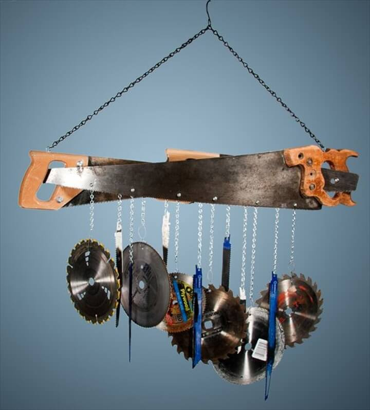 Saw Blade Wind Chime