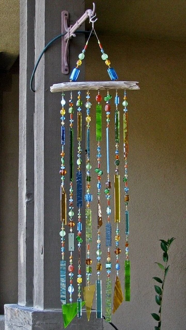 40 homemade diy wind chime ideas diy to make for Ideas for pictures