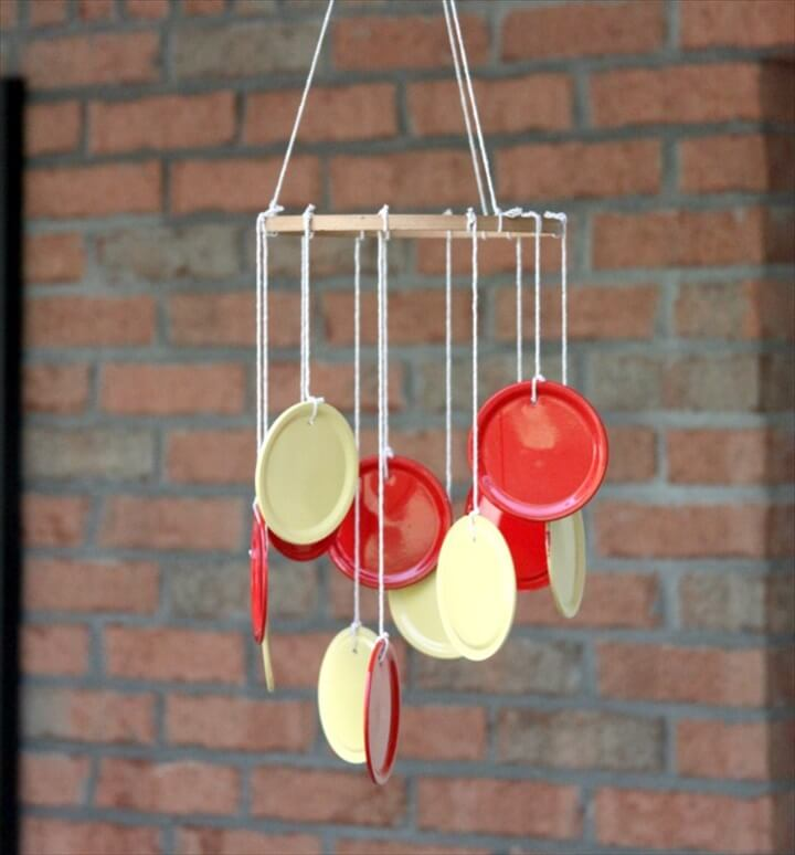 lid wind chime