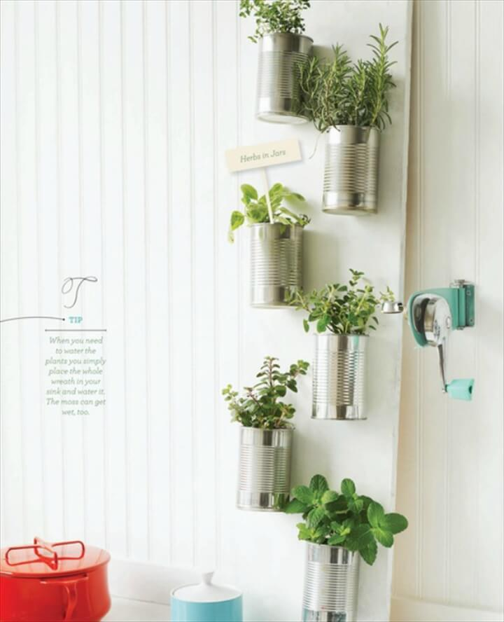 Can Herb Garden by Sweet Paul Magazine