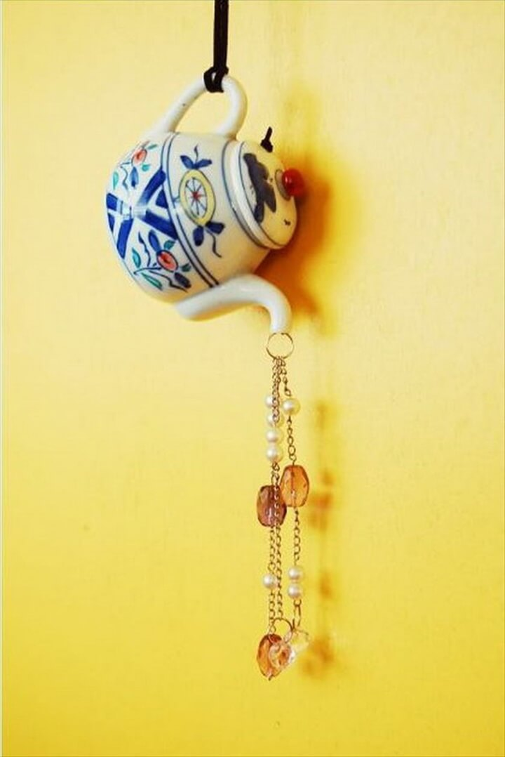 DIY Teapot Wind Chimes