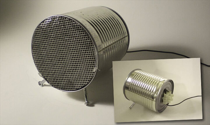 DIY Tin Can Speakers