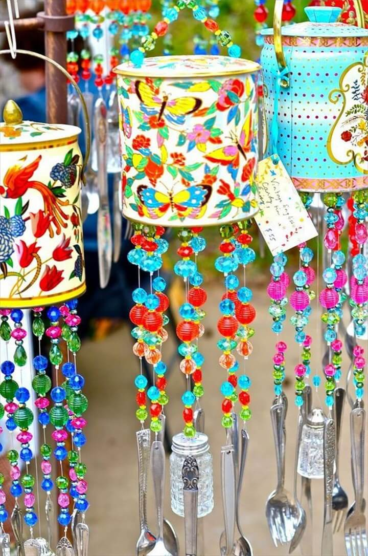 tin can wind chime