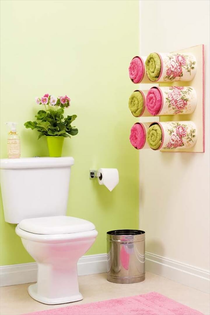 Bathroom Organizing Ideas Tin Cans