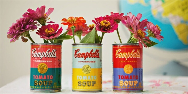 Creative Ways to Turn Old Tin Cans Into Adorable Decor