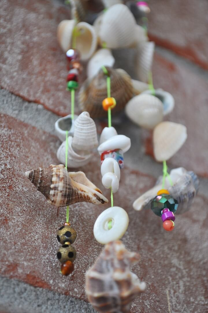 There are two companions to this project if you're interested, one with seaglass and the other with driftwood.