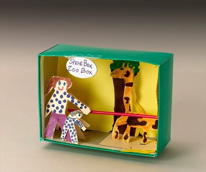 Shoe Box Zoo Box