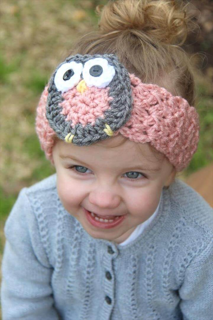 Amazing Baby Owl Headband