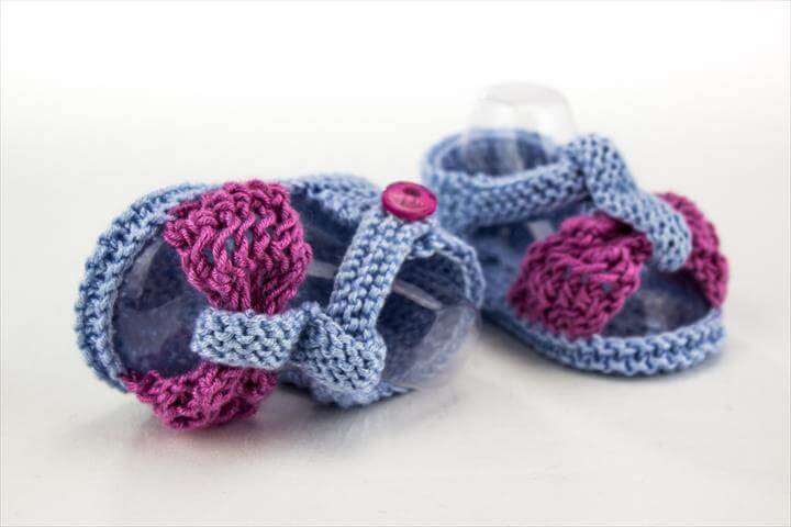 Lace Bow Sandal Pattern