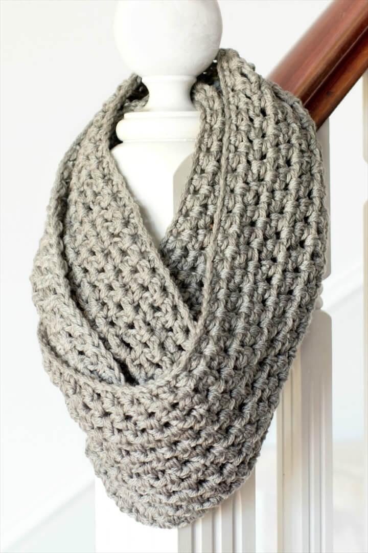 basic chunky scarf