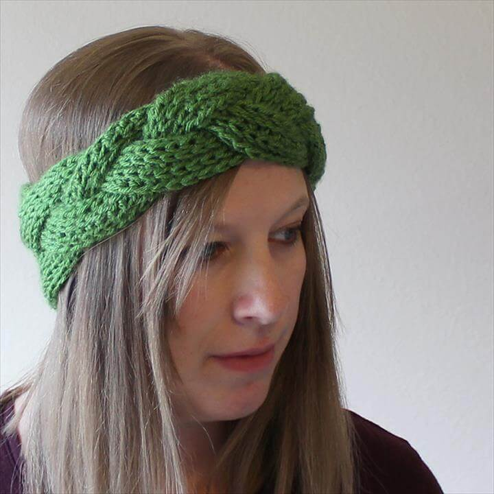 Braided Headband or Earwarmer