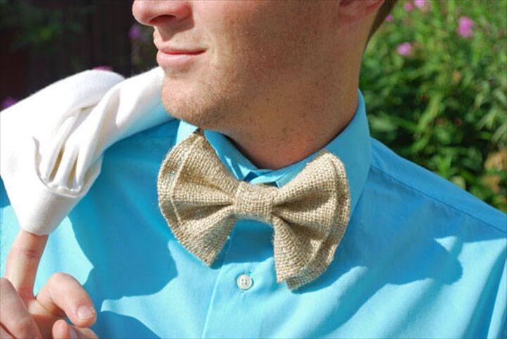 No Sew DIY Clip On Bow Ties