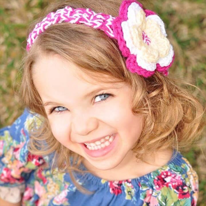 Items similar to Children Headband for Girl