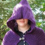 16 DIY Ideas About Crochet Hooded Cap & Shawl