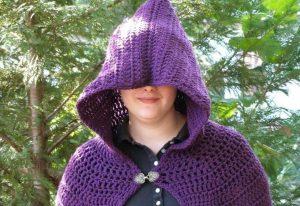 Crochet Full Length Cloak Pattern Pattern