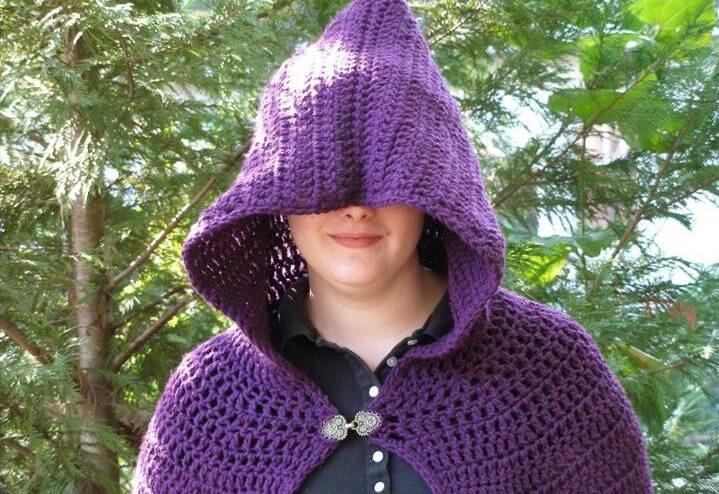 Crochet Full Length Cloak Pattern Pattern