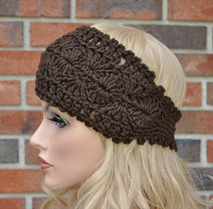 32 Crochet Headband Design Ideas