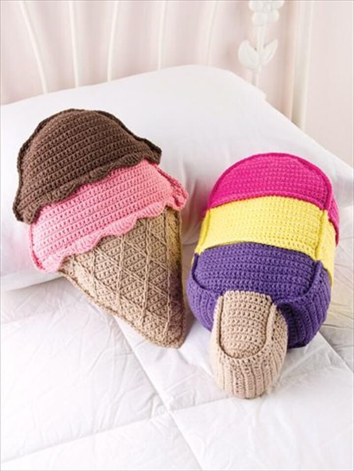 Cream Pillows