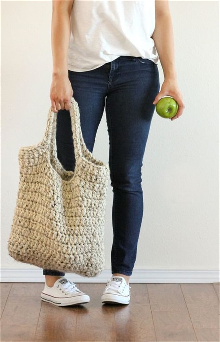 The Best Collection of Crochet Market Tote Bags