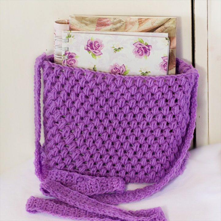Easy Tote Bag Crochet Pattern