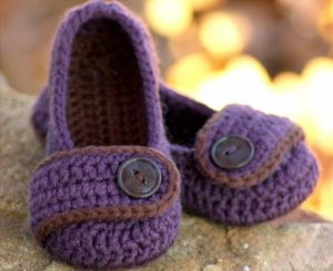 Toddler Crochet Pattern for Valerie Slipper