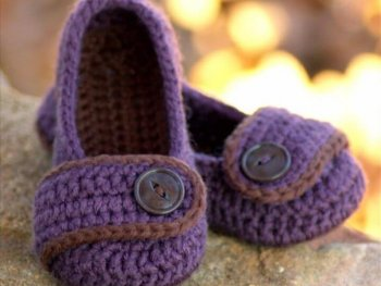 Toddler Crochet Pattern for Valerie Slipper