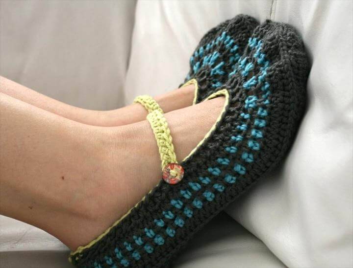 Slippers Crochet and Crochet Patterns