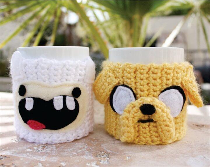 Jake the Dog Inspired Coffee Mug Tea Cup Cozy