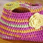 Easy Peasy Little Kids Bag Crochet Pattern