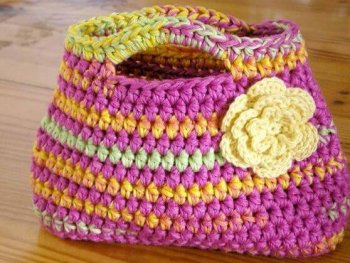 Easy Peasy Little Kids Bag Crochet Pattern