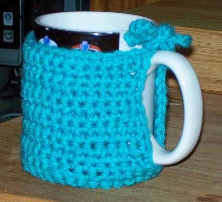 nice crochet mug warmer